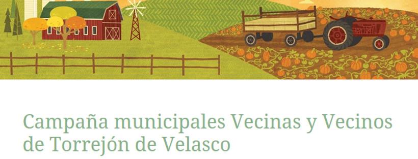 ¡Colabora como voluntario/a en la campaña electoral de la candidatura vecinal!