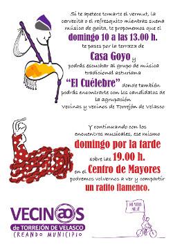 Música tradicional asturiana y flamenco
