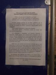 Nota del párroco