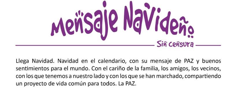 Mensaje navideño Vecinas y vecinos de Torrejón de Velasco
