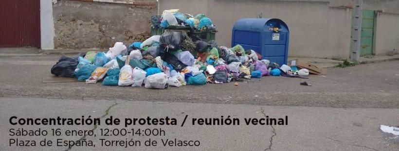 Convocamos concentración de protesta por la acumulación de basuras en el pueblo