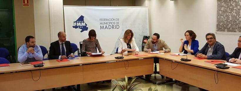 Participamos en la Comisión de Infancia y Juventud de la Federación de Municipios de Madrid