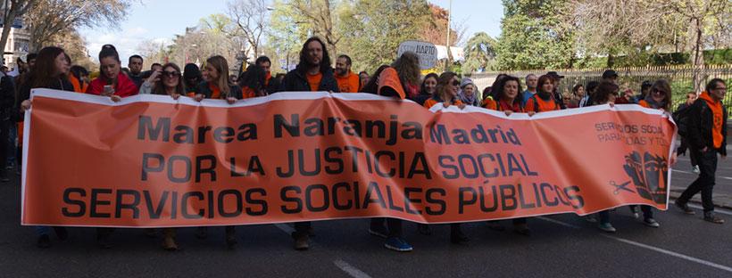 Madrid Marchas por la dignidad - Imagen en Acción | flickr.com