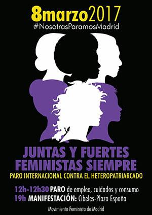 El 8 de marzo las mujeres paran