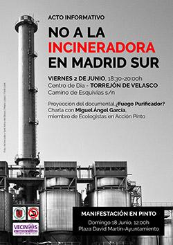 """Acto informativo """"No a la Incineradora en Madrid Sur"""""""