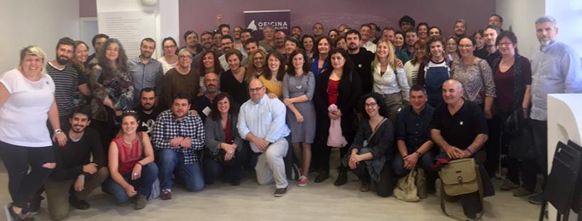 Presentación Oficina Municipalista Podemos Comunidad de Madrid