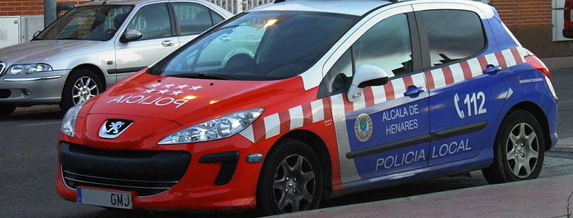 Coche Policía Local | Alcalá de Henares | wikipedia.org