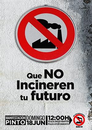 """Manifestación """"No a la construcción de la Incineradora en Madrid Sur"""""""